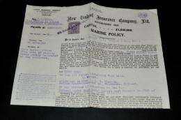 1- New Zealand Insurance Compagnie Ltd - Interi Postali