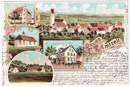 AMTZELL 1901 Litho - Deutschland