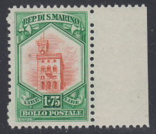 San Marino - 1929 - Palazzo Del Consiglio - 1,75 Lire ** MNH - Nuevos