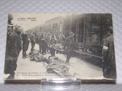 Militaria//Militaire - Très Rare Carte Postale Militaire - Guerre De 1914/1915 - 155 R.P. PARIS