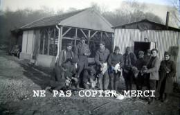Regiment De La Meuse 155 RIF RI Forteresse SF Montmedy WW2 Ligne Maginot Plume La Volaille Negatif Photo Original - Guerre, Militaire