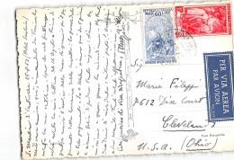 AG1238 SAN MARTINO DI CASTROZZA X CLEVELAND U.S.A. - LEONARDO DA VINCI - 6. 1946-.. República