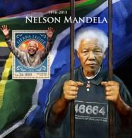 Sierra Leone. 2016 Nelson Mandela. (914b) - Nobel Prize Laureates