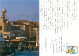Chania, Crete, Greece Postcard Posted 1997 Stamp - Grecia