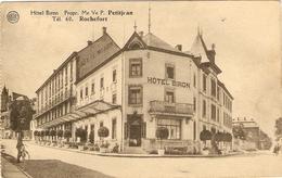 ROCHEFORT    ---   <  HOTEL  BIRON >  Propr. Me  Ve  P. PETITJEAN - Rochefort