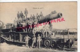 MILITARIA - GUERRE 1914-1918- OBUSIER DE 400 MM- CANON - Guerre 1914-18