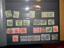DANEMARK PETITE COLLECTION D ENVIRON 385 TIMBRES TOUT ETAT PRINCIPALEMENT OBLITERE - Lotes & Colecciones