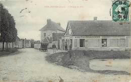 """-ref-N688- Eure - Bois Jerome - Entree Du Pays - Cafe Restaurant Guay - """" Il Vaut Mieux Boire Ici Qu En Face """"- Cafes - - Other Municipalities"""