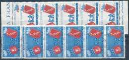 N° 783/84, Jumelage Rome - Paris, Blasons, Romulus Et Remus, 10 Séries Complètes - Briefmarken