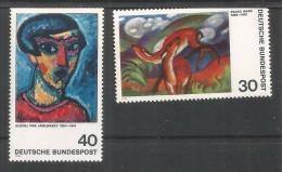 ALEMANIA 1974 ARTE PINTURA EXPRESIONISTA - Impresionismo