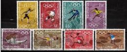Liechtenstein Mi 551,554. 556,559. Olympic Cames 1972 Gestempeld Fine Used - Oblitérés