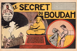 Récit Complet - OURAGAN, Roi De La Brousse N°84 - Le Secret Du Boudah - Editions Modernes - Auteur : A. BONAN - Petit Format
