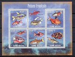 Guinea Bissau 2009 / Fish MNH Fische Peces Poissons / Cu1732  37 - Peces