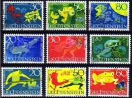 Liechtenstein  Sagen 1967,1969 Gestempeld Fine Used - Liechtenstein