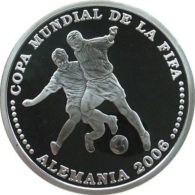 Paraguay, 1 Guarani 2003 - Argent /silver Proof - Paraguay
