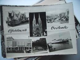 België Belgique West Vlaanderen Oostende Ostende  Groeten Uit - Oostende