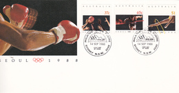 Australia 1988 Seoul Olympic Games FDC, Opera House Cancellation - Zomer 1988: Seoel