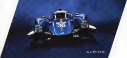 24 Heures Du Mans  -  Alpine #36  -  Nicolas Lapierre/Gustavo Menezes/Stéphane Richelmi  -  Carte Promo - Le Mans
