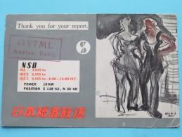 OY7ML Martin DENMARK ( ) Anno 1960 ( Zie Foto Voor Details ) - Radio Amateur