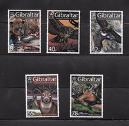 OA 7828 / GIBRALTAR 2007 Yvert 1220 à 1124 ** -Faune Préhistorique - Gibraltar