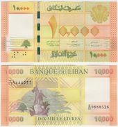 Lebanon P 92 - 10000 10.000 Livres 2012 - UNC - Libano