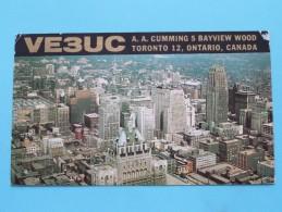 VE3UC A. A. Cumming Ontario Canada - Anno 1963 ( Zie Foto Voor Details ) - Radio Amateur