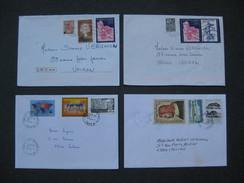 4 Lettres Timbrées : Journée Du Timbre, Broglie, 18 Juin 1945, Jean LE BON - France