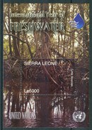 2003 Sierra Leone International Year Of Fresh Water Acqua Dolce Piante Plants Plantes Alberi Trees Arbres Set MNH** RR48 - Sierra Leone (1961-...)