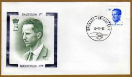 Enveloppe Cover Brief FDC 2069 Baudouin Boudewijn 1er - FDC