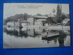 VILVOORDE : Les Moulins De  Trois Fontaines Et Le Bac En 1929 - Otros