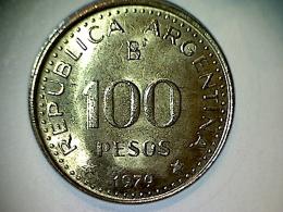 Argentine 100 Pesos 1979 - Argentine
