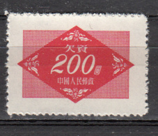 Chine -  Taxe  112 ** - 1949 - ... Volksrepubliek
