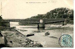 N°199 L -cpa Le Pont De Ranville Sur L'Orne- - France