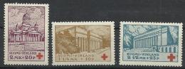 FINLANDE N° 170 à 172 Neuf Avec Charnière Année 1932