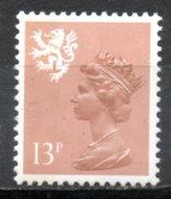 FJ2619 : Grande-Bretagne Yvert N°1246 Neuf 1986 ELISABETH II 13P Ecosse - Regional Issues