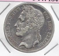 LEOPOLD I  5 Frank  1847    ZEER FRAAI -   -  M13 - 1831-1865: Léopold I