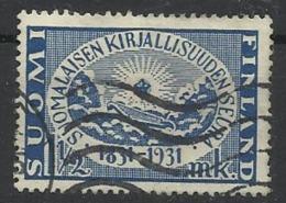 FINLANDE N° 160 Oblitéré Année 1931