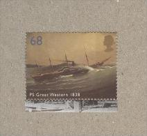 Great Britain 2006 68p Liner/Brunel - Ex Prestige Book - SG2614 - Nuovi