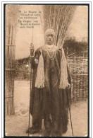 Congo Belga/Belgian Congo: Intero, Stationery, Entier, Costume Tradizionale, Traditional Costume, Costume Traditionnel