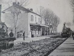 CPA 34 Hérault  Castries La Gare - Castries