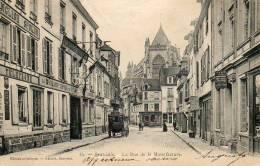 CPA - BEAUVAIS (60) - Aspect De La Rue De La Manufacture Et Du Grand Hôtel De France En 1900 - Beauvais