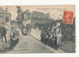 76 BEC DE MORTAGNE PREMIERE COMMUNION 1908 CPA BON ETAT - Frankrijk