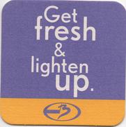 SOUS BOCK Coaster Get Fresh & Lighten Up - Bierdeckel