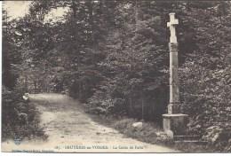 Bruyeres En Vosges Vue Horizontale De  La Croix De Faite - Bruyeres