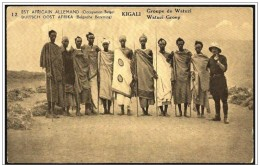 Congo Belga/Belgian Congo: Intero, Stationery, Entier, Costumi Watussi, Costumes Watussi, 2 Scan
