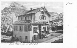AROSA → Bazar Wolfensberger Mit Hotel Post, Lichtdruck Ca.1910 - GR Graubünden