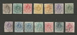 Lot De Timbres Alphonse XIII - Espagne