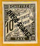 Diégo-Suarez 1892 Taxe 8 Avec Charnière             La Photo Est Celle Du Produit Fourni.