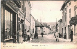 CARTE POSTALE DE POISSONS  -   RUE SAINT AMAND - France