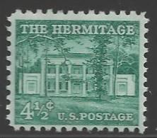 1959 Liberty Series, 4-1/2 Cents Hermitage Mint Never Hinged - Stati Uniti